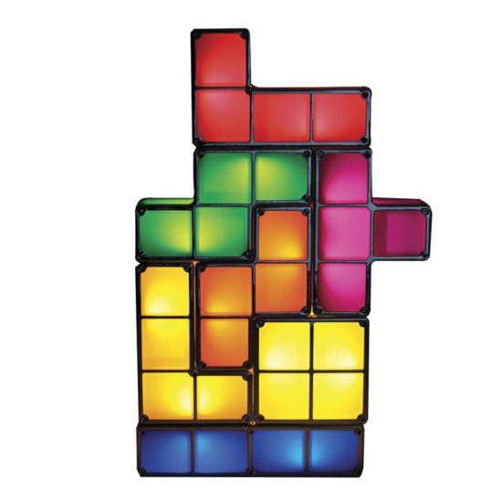 Tetris LED Leuchte